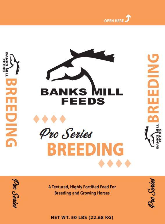 pro series breeding feed bag