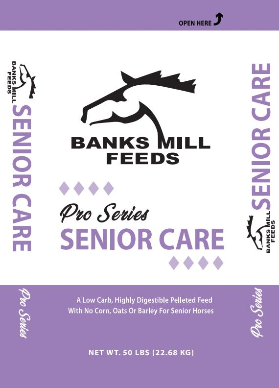 senior care feed bag