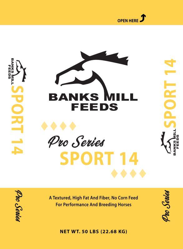 pro sport 14 feed bag